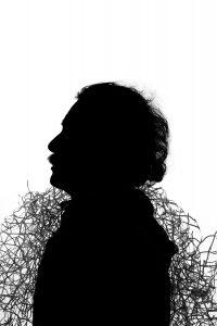 Silueta #96, 2011. Fotografía, impresión giclée. 55 x 36 cm.