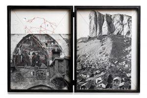 Collage #89-#98, 2016. (Dorso). 29,5 x 22,5 cm c/u.