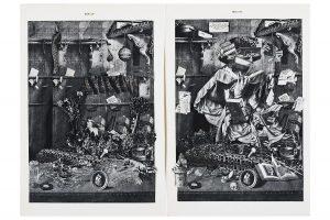 Collage #86, 2015.(Detalle frente).Biombo 1.