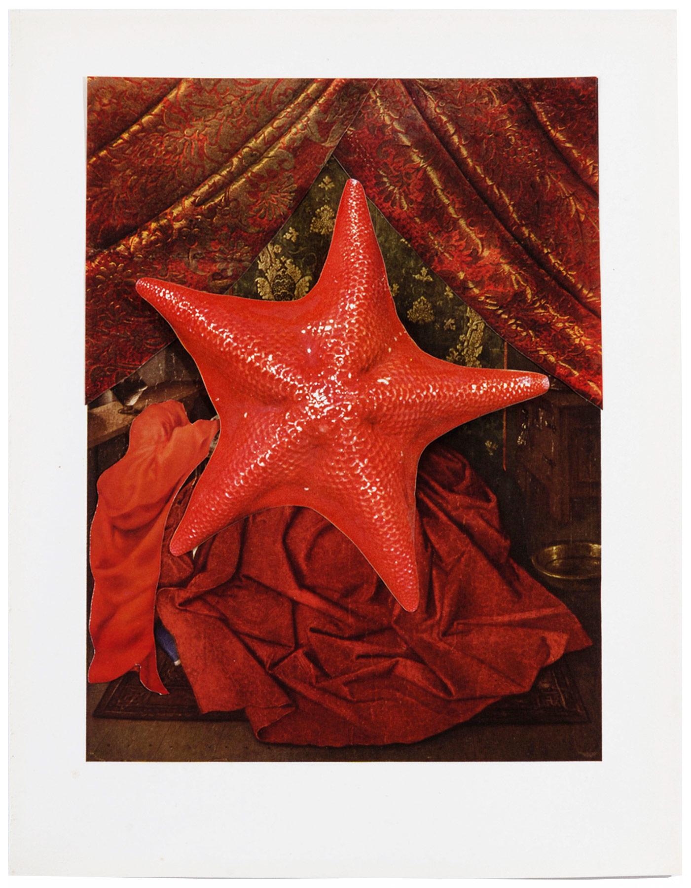Collage#30, 2010. (Frente). Collage,papel, hilo. 47 x 39 cm.
