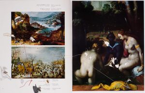 Collage #42, 2011. (Dorso). Collage, papel, hilo. 38 x 56 cm.
