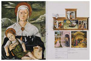 Collage#57, 2012. (Frente). Collage, papel, hilo. 37 x 55 cm.