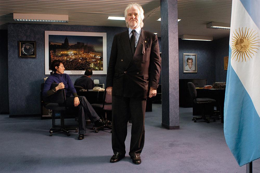 Juan Carlos Blumberg, empresario.