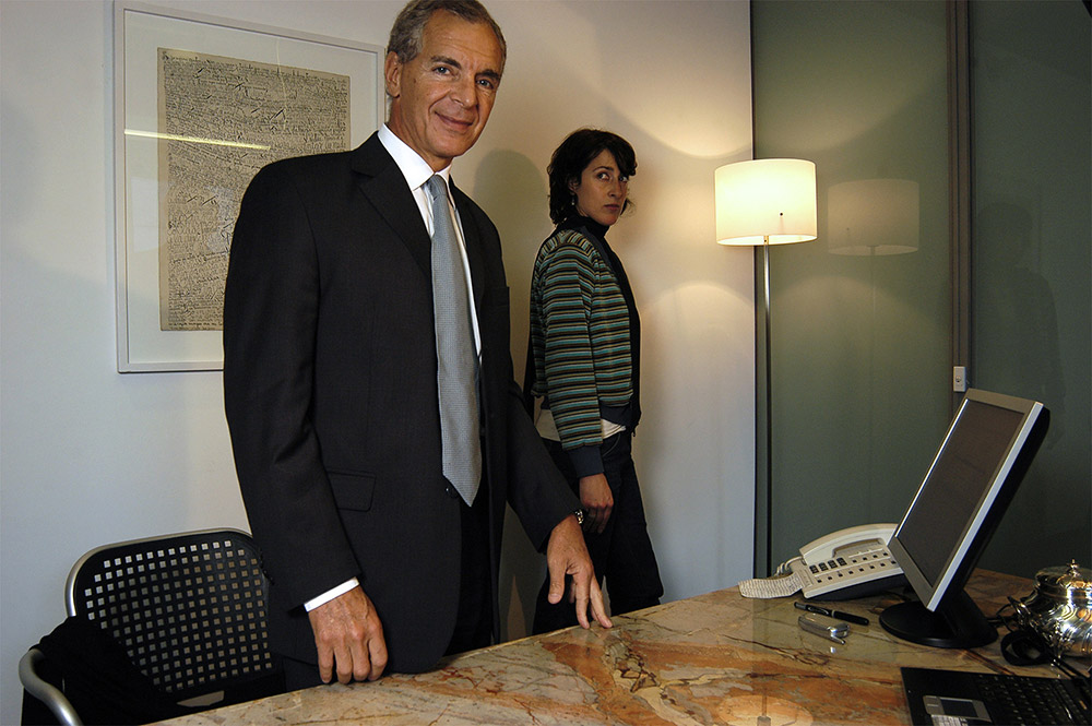 Eduardo Constantini, empresario.